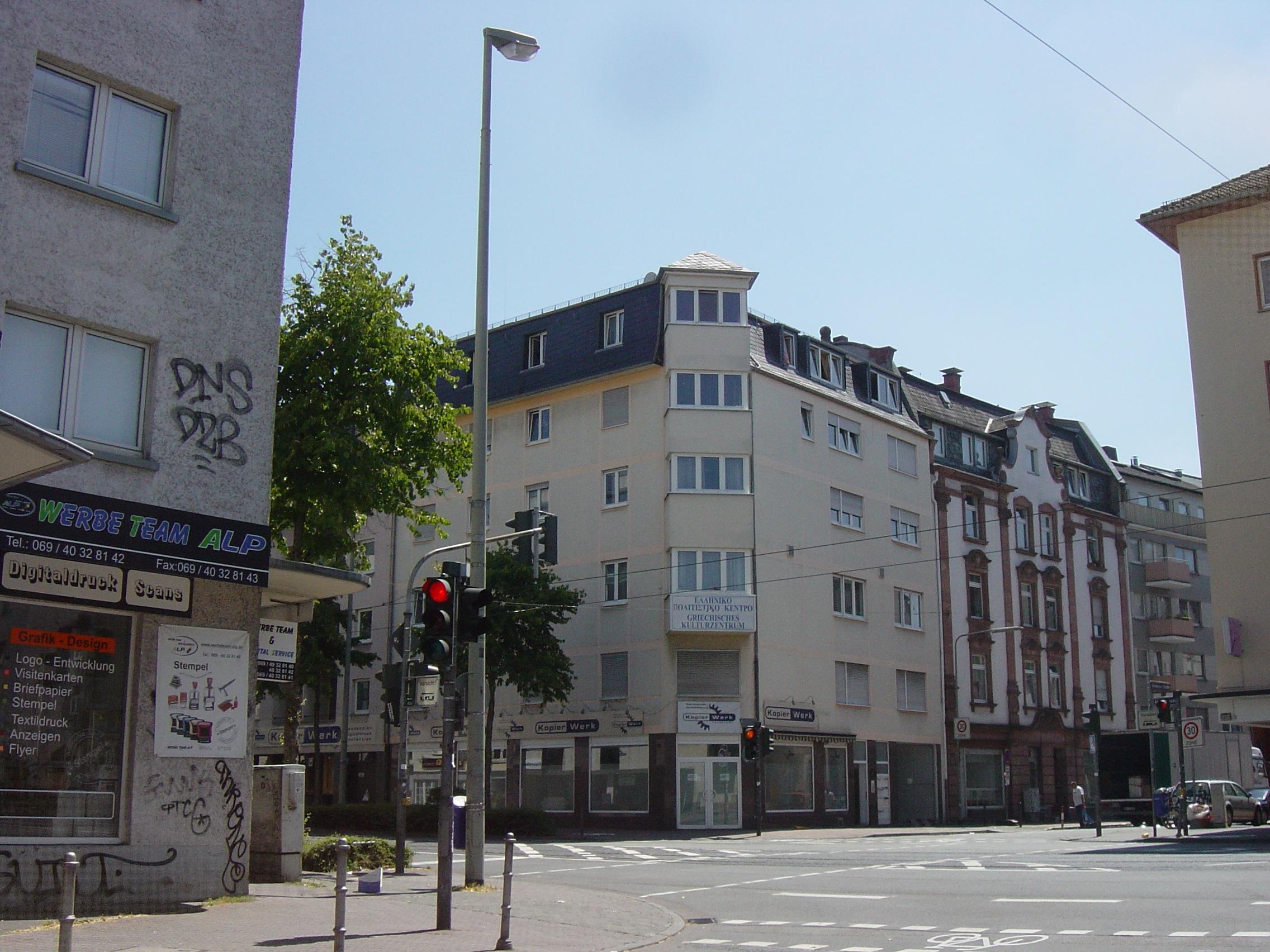 Datei Frankfurt Bockenheim Homburger Straße A1 Jpg Wikipedia