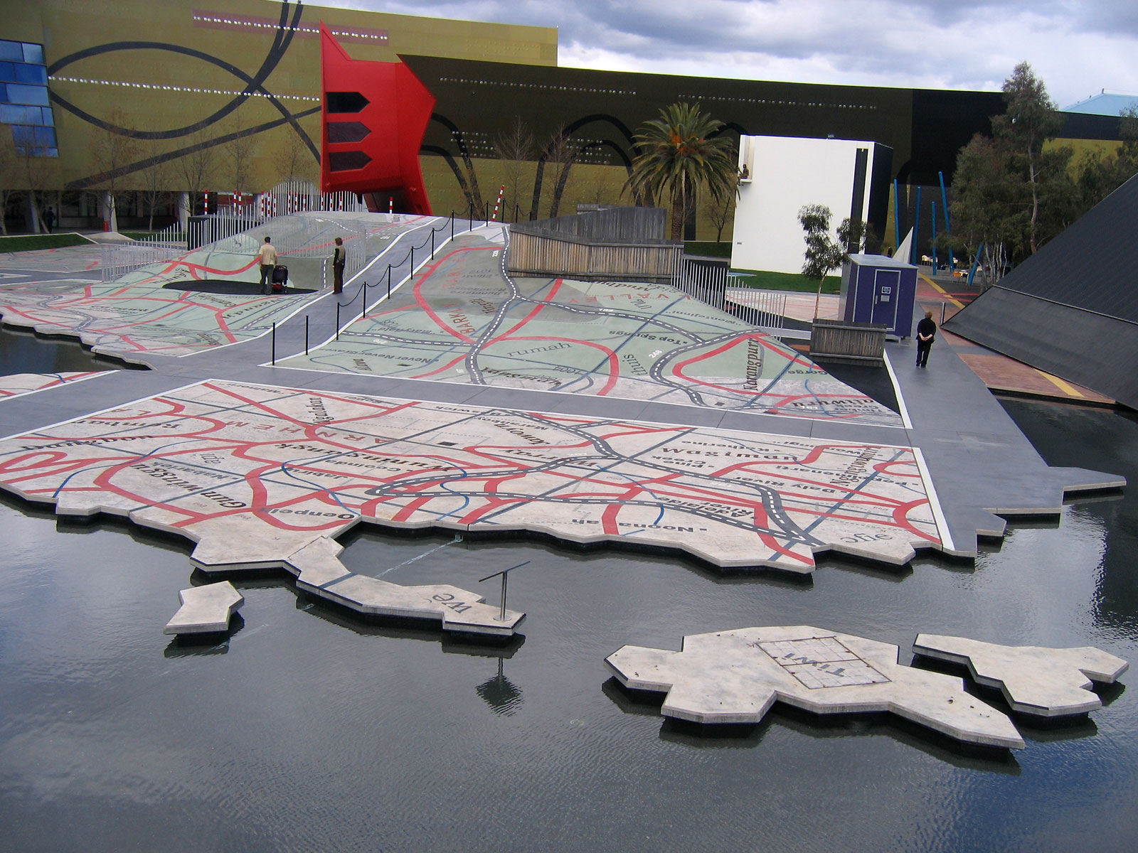 Garden of Australian Dreams, National Museum of Australia, Canberra.jpg