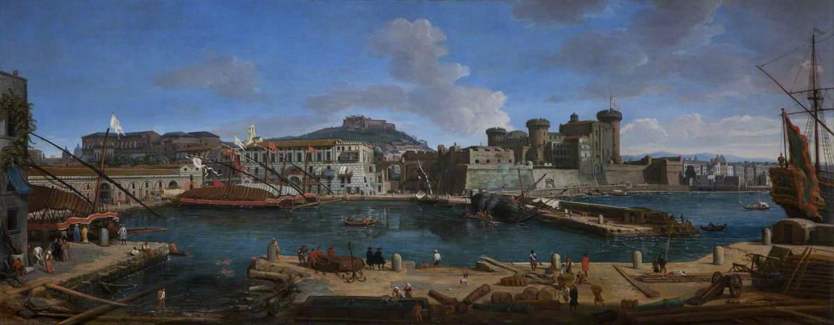 Гаспаре Ванвителли (1653-1736) - Неаполитанский порт, «Ла Дарсена делле Галере» - 108899 - National Trust.jpg