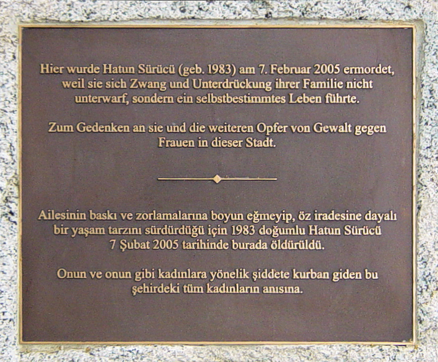 Honor killing of Hatun Sürücü