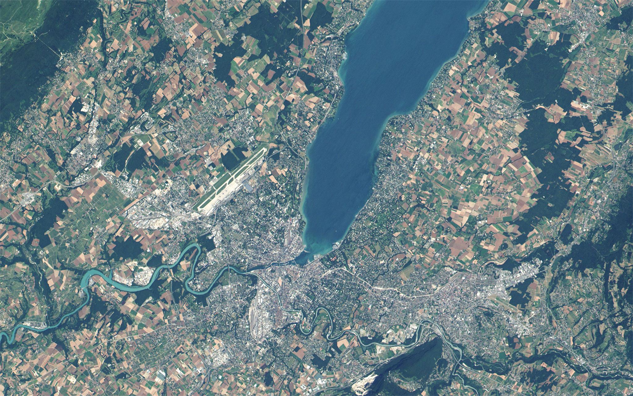 FileGeneva Switzerland Satellite Viewjpg Wikimedia Commons - Satellite view
