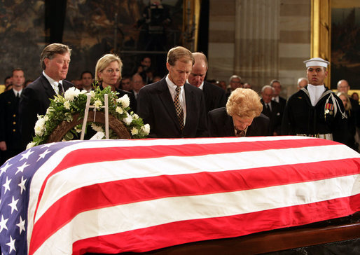 Death and STATE FUNERAL of Gerald Ford - Wikipedia, the free.