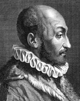 Giambattista della Porta<ref>Portrait of della Porta: from ''Jo. Bapt. Portae Neapolitani Magiae naturalis libri XX''...., Naples, 1589</ref>