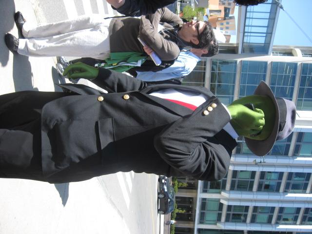 V de Vendetta y Anonymus Green-Anonymous