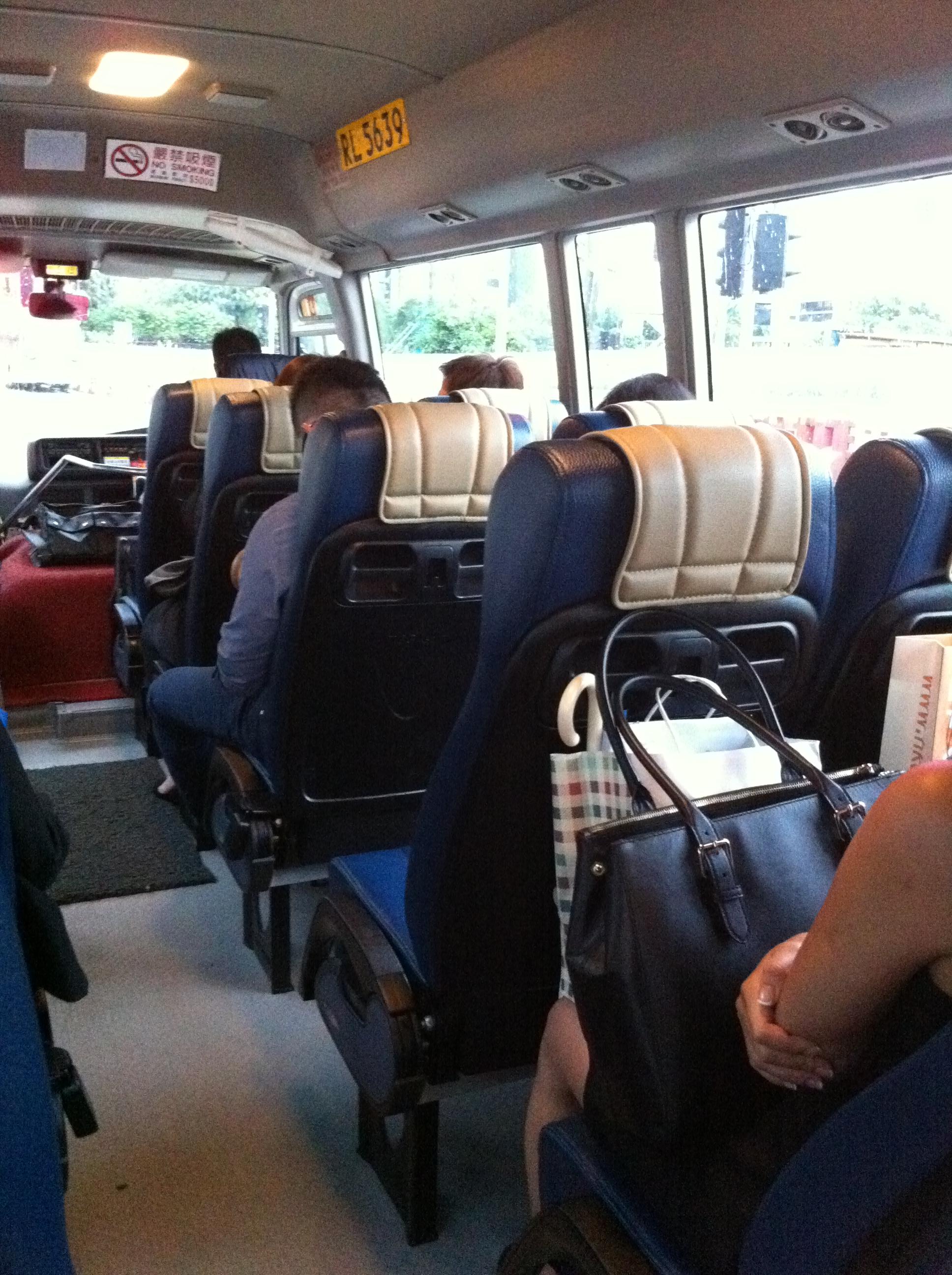 Image Gallery Minibus Interior