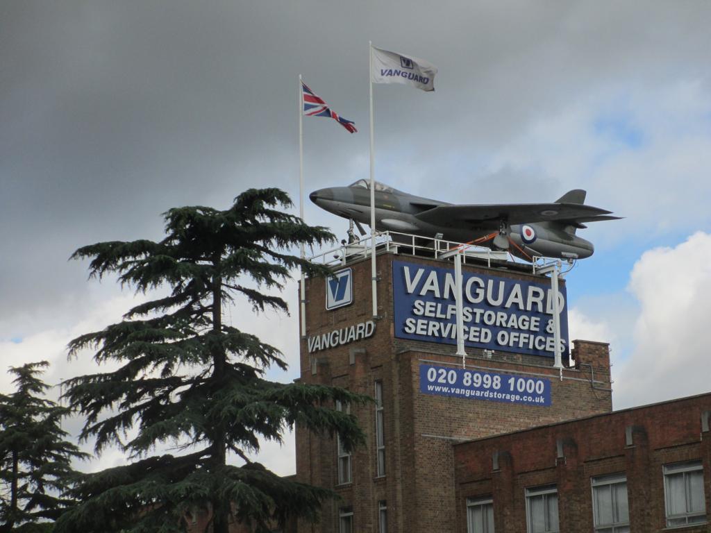 File:Hawker Hunter Plane On Vanguard Storage (9761441184)