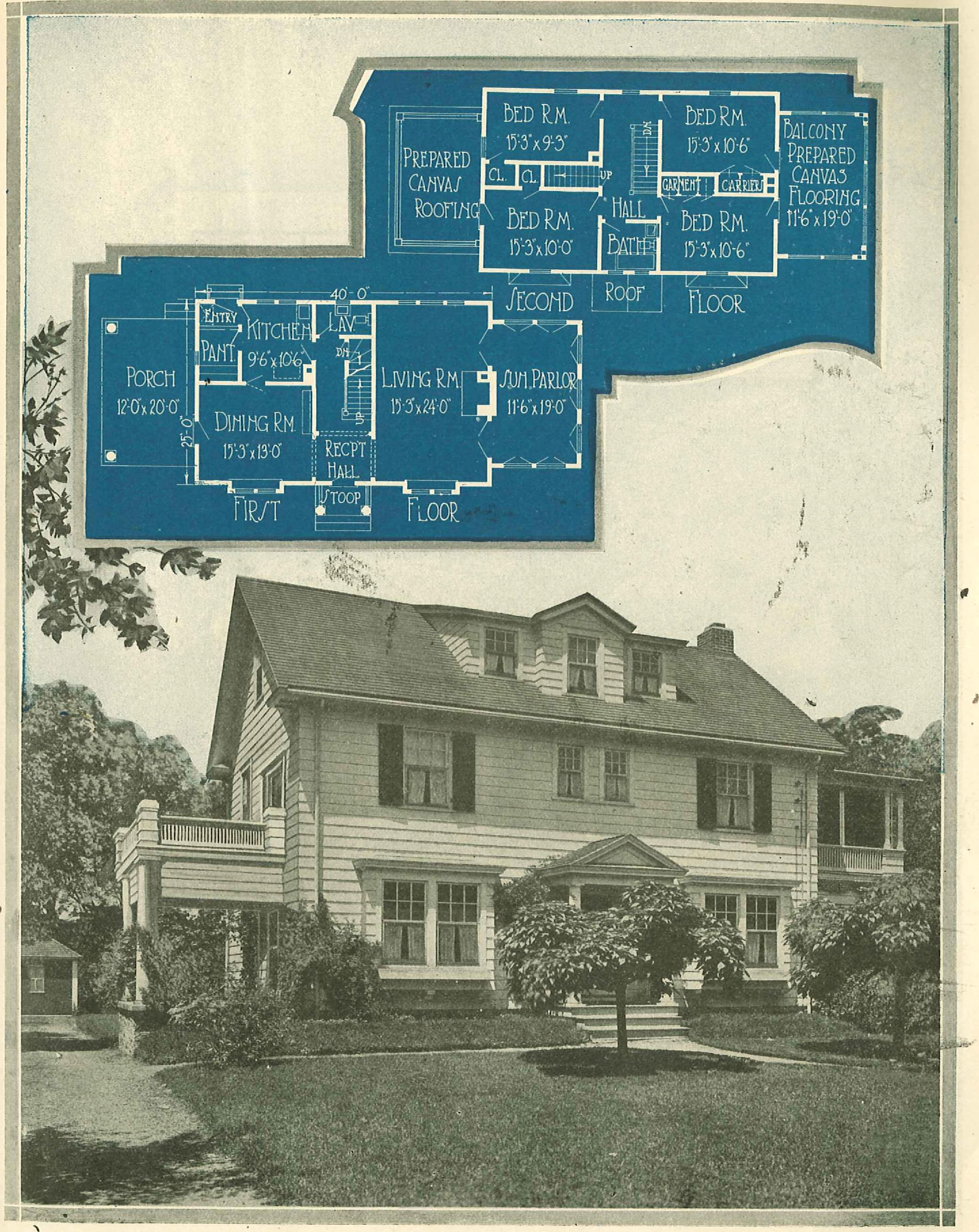File:Home plan suggestions (1921) (14760033551).jpg ... on house plans with wrap around porch, cabin plans with sleeping porch, home with sleeping porch, house plans with screened porch, house plans for homes built on a slope, waterfront house plan with porch,