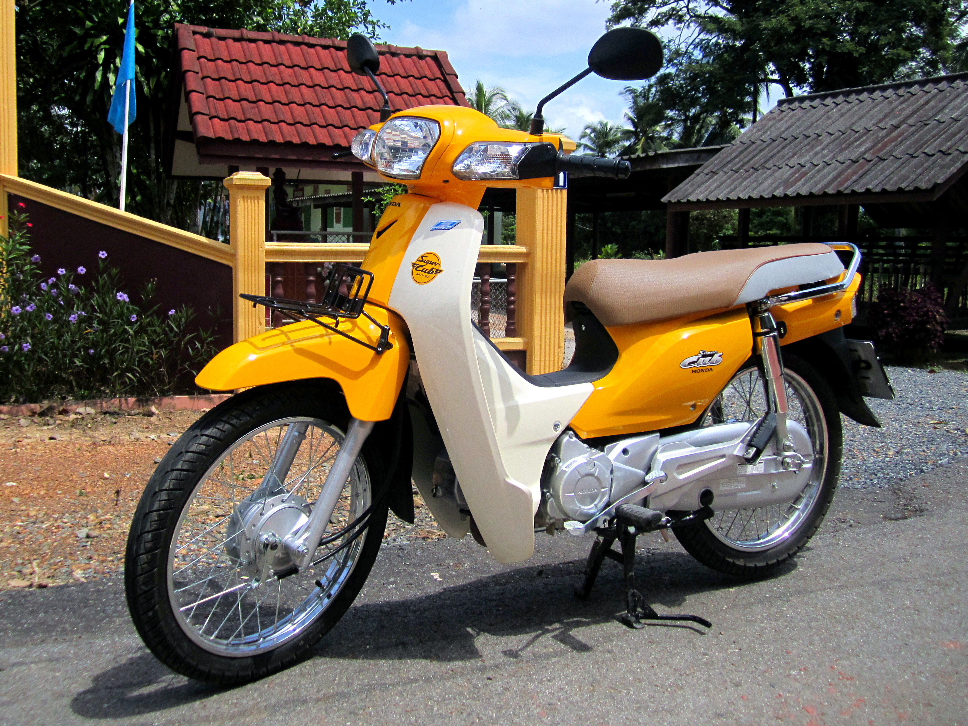 File Honda Dream 110i Super Cub Nd110m 2014 Front Jpg Wikimedia Commons