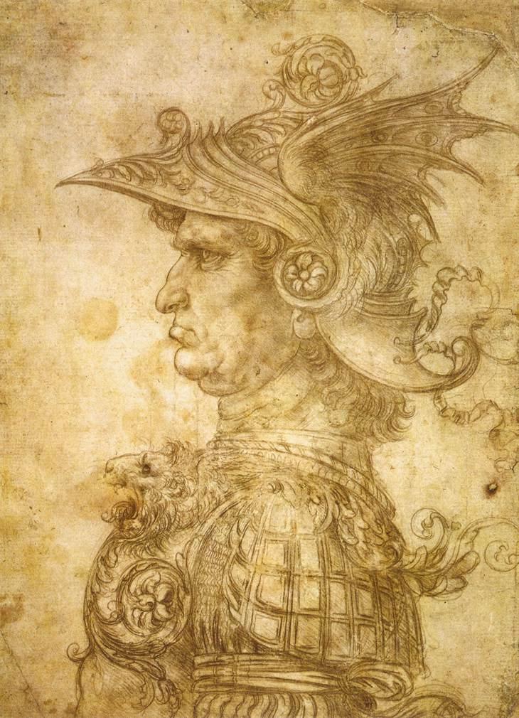 Un mercenaire, peint par Léonard de Vinci