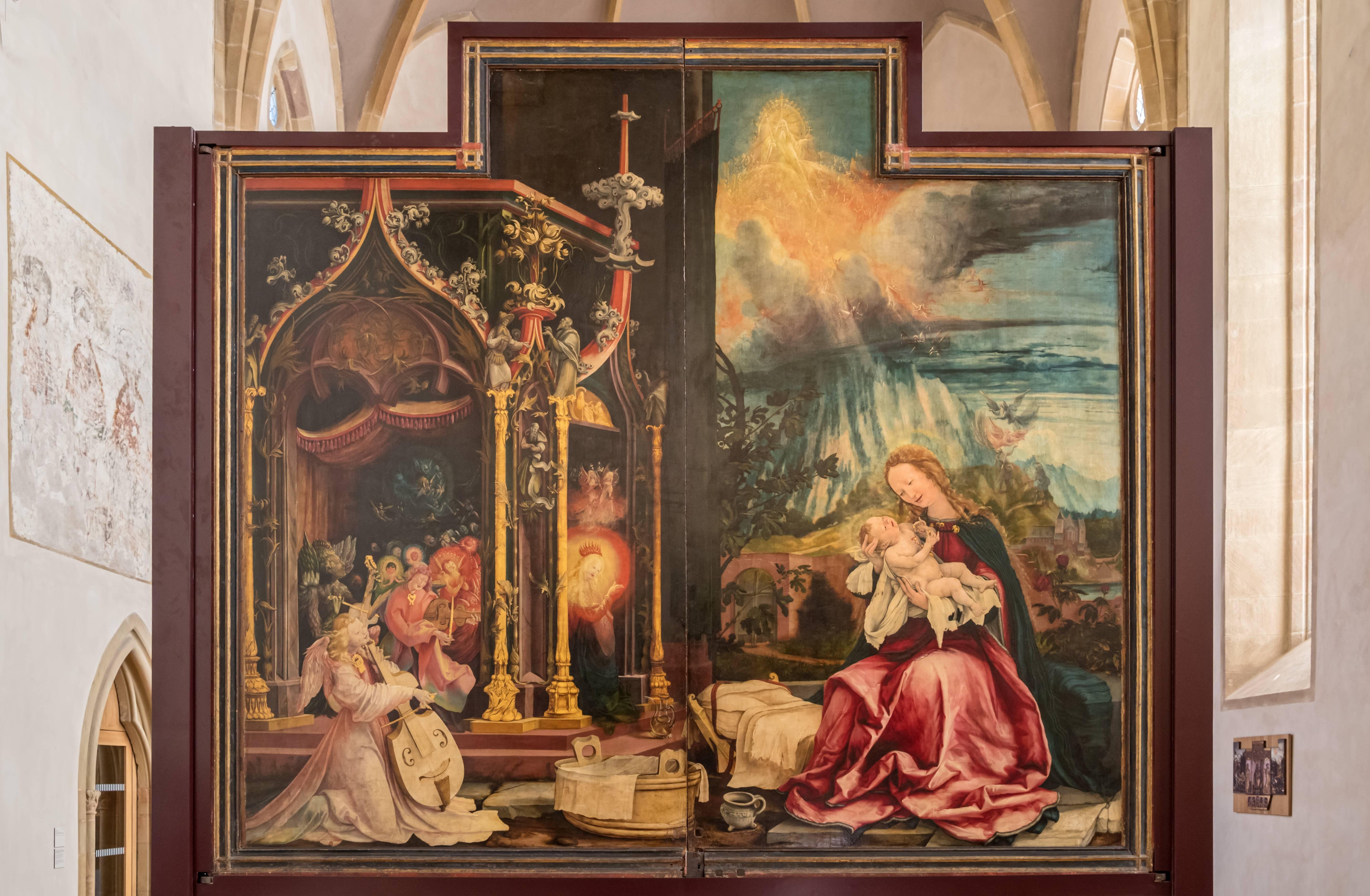 Isenheimer Altar zweite Schauseite