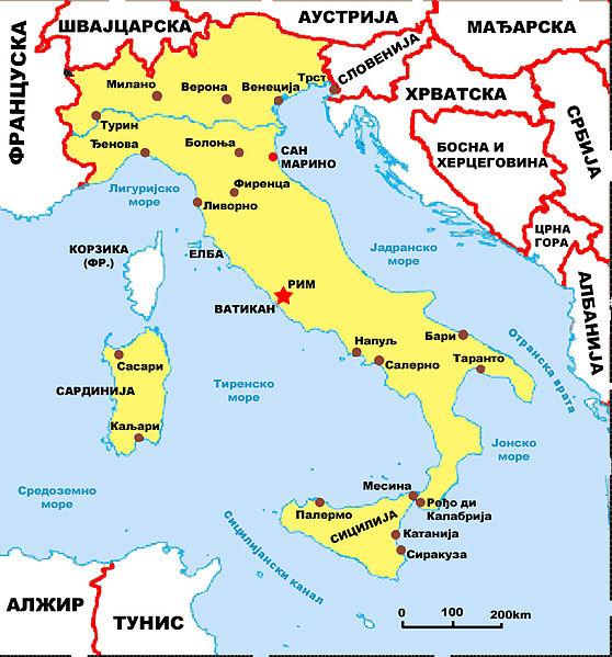 italija karta File:Italija mapa.   Wikimedia Commons italija karta
