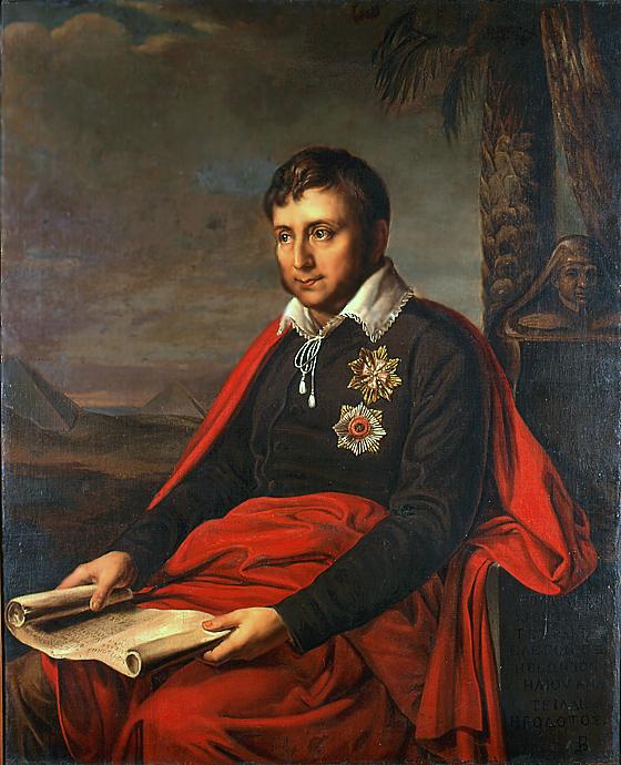 Depiction of Jan Potocki