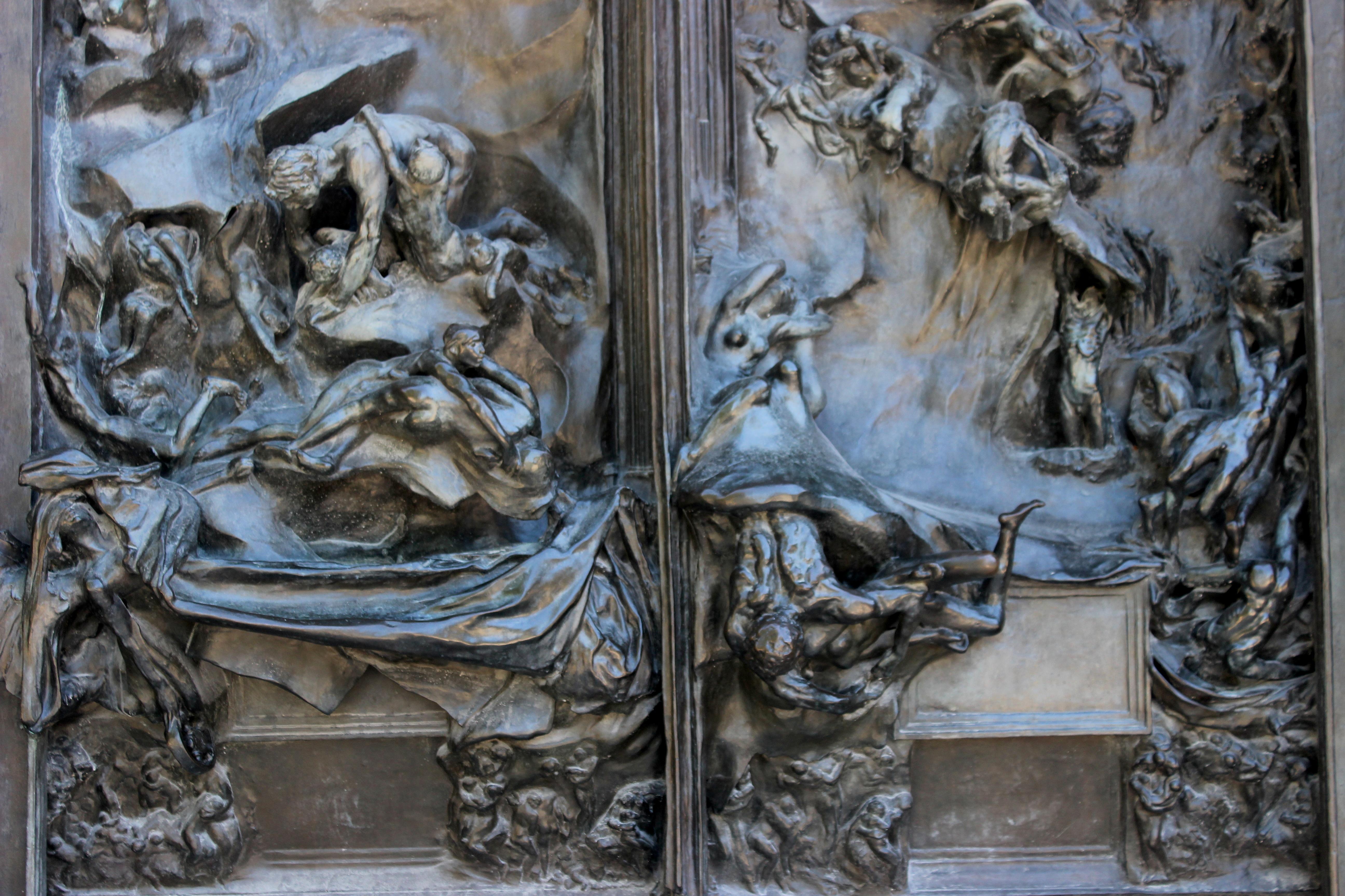 File jard n rodin puerta del infierno 03 jpg wikimedia commons - Jardin infierno ...