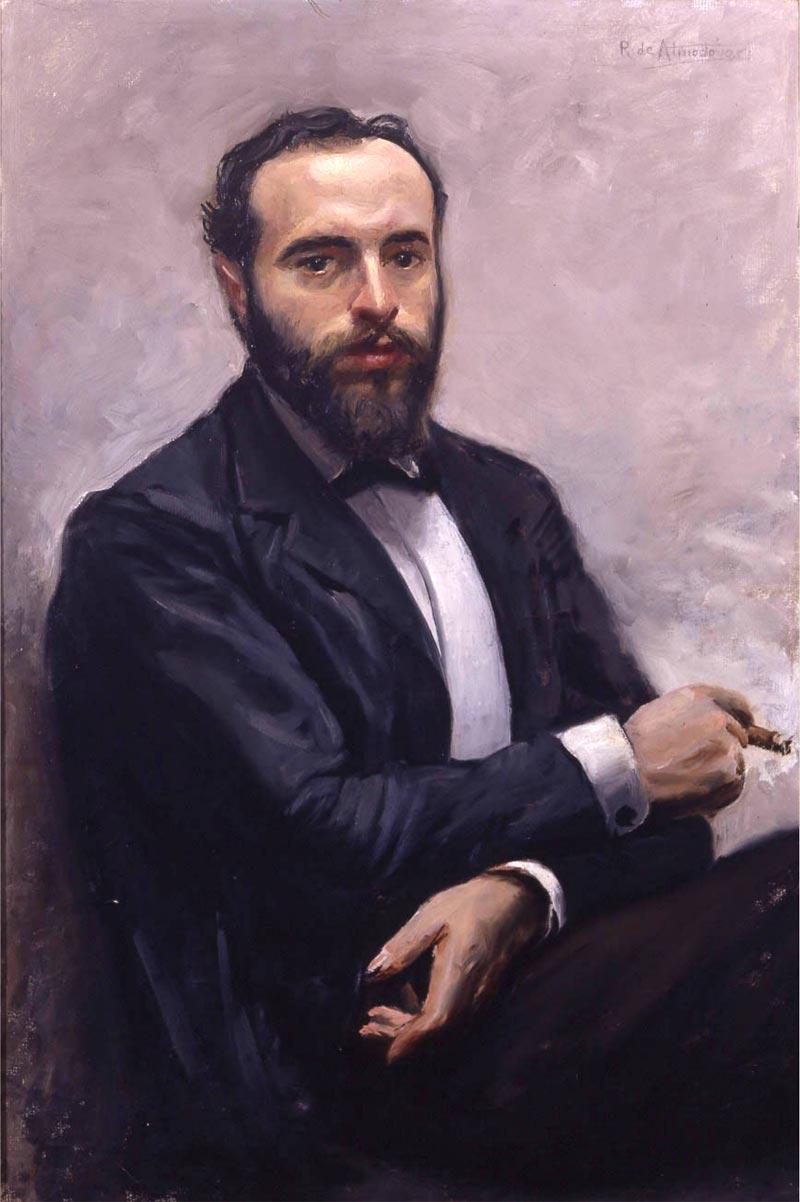 José Ruiz de Almodóvar: Retrato de Ángel Ganivet.