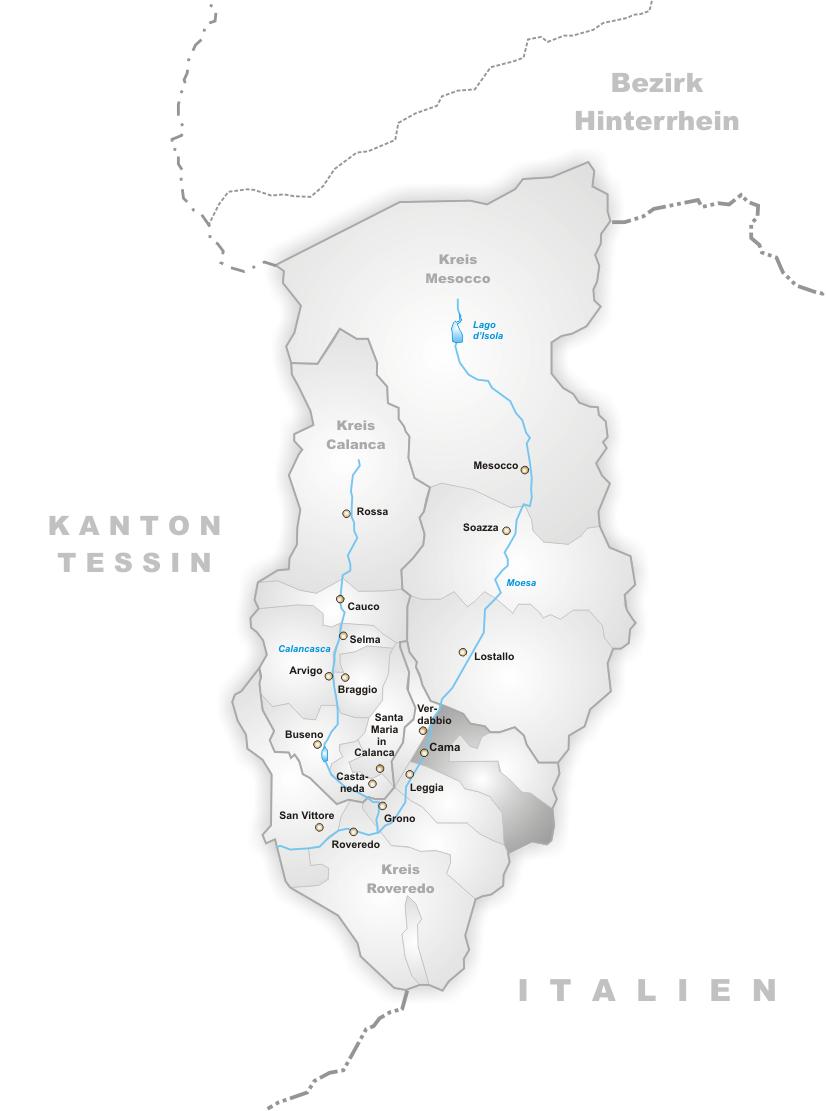 Cama locator map