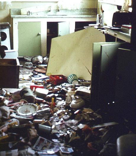 File kitchen after earthquake inangahua 1968 jpg wikimedia commons