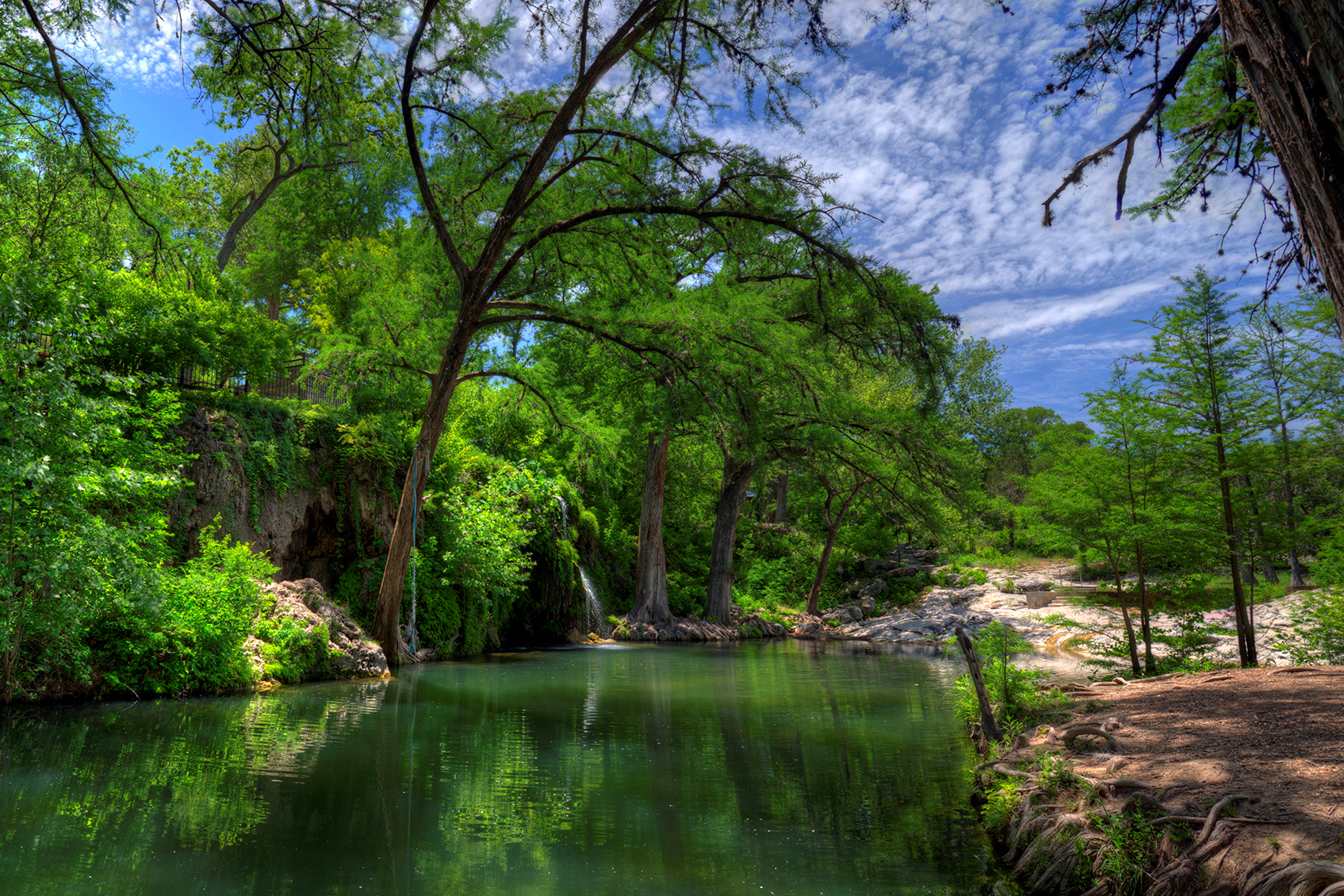 Krause Springs in Spicewood, TX