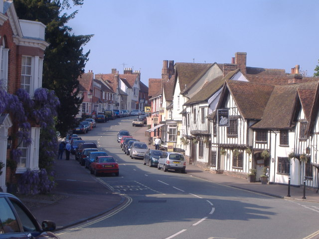 Lavenham in the Spring - geograph.org.uk - 421412