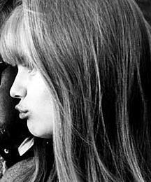 Lena Nyman 1967, ved indspilningen af Jeg er nysgerrig - gul.