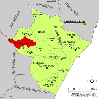 File:Localització de l'Alcúdia de Veo respecte de la Plana Baixa.png