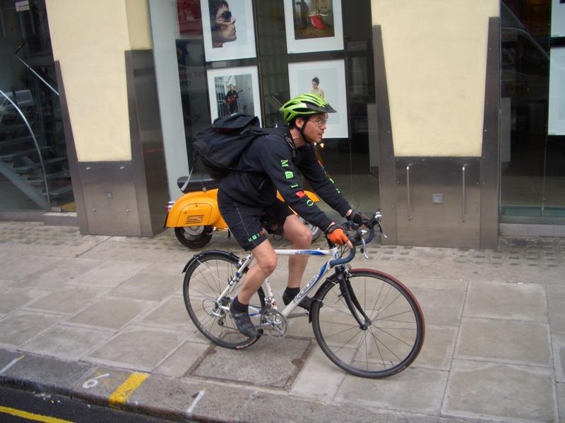 File:London bicycle messenger.jpg
