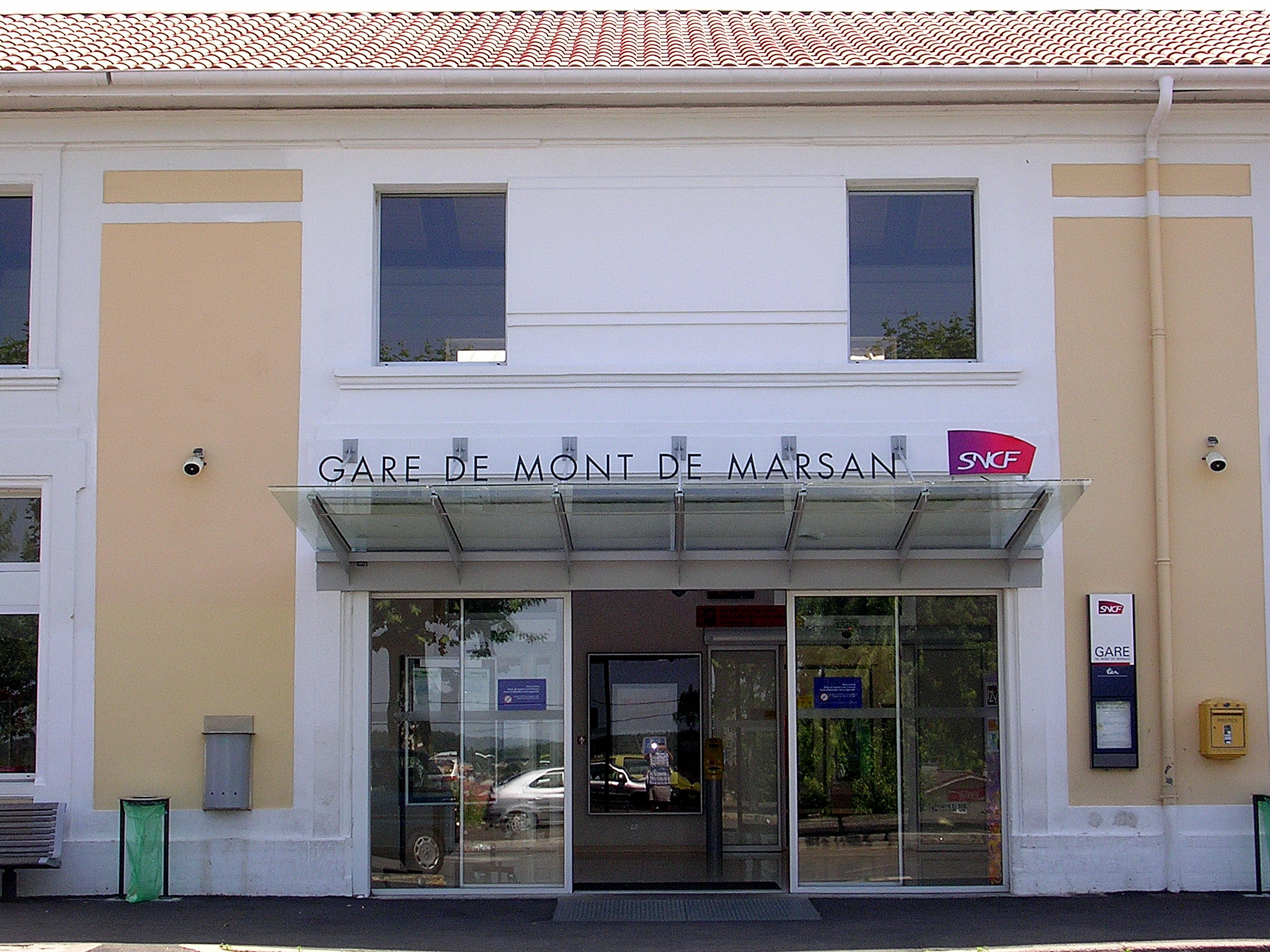 gare de mont de marsan wikiwand. Black Bedroom Furniture Sets. Home Design Ideas