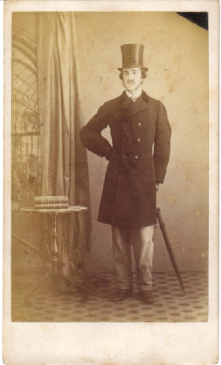 FileMan In A Top Hat Carte De Visite