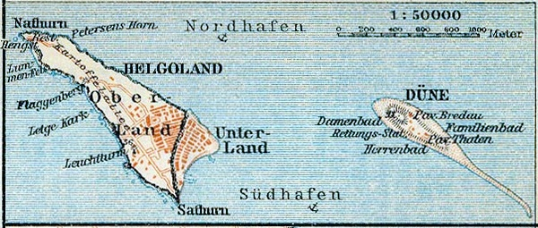 File Map Helgoland 1910 Cropped Jpg Wikimedia Commons