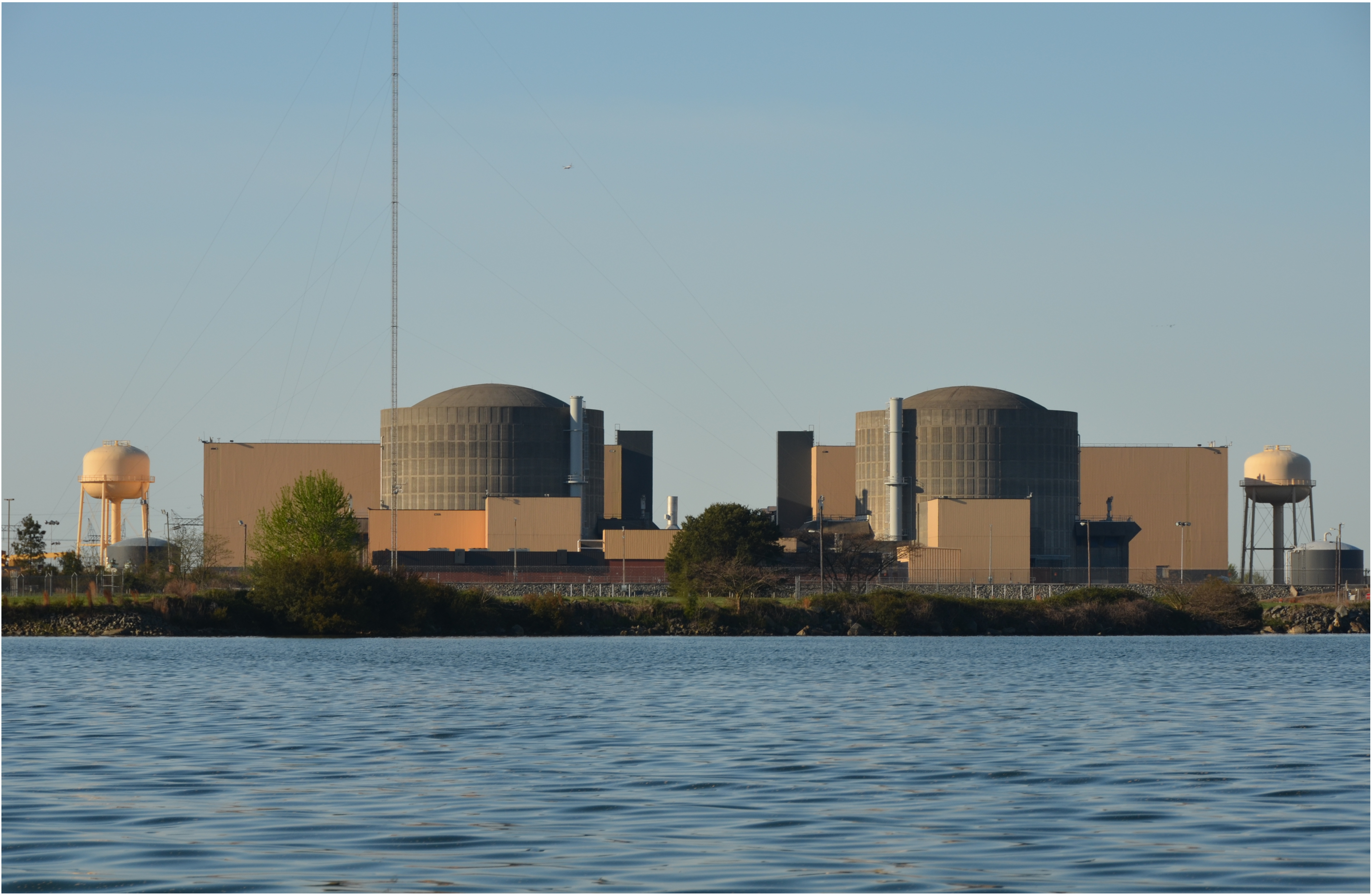 McGuire Nuclear plant as seen from the lake