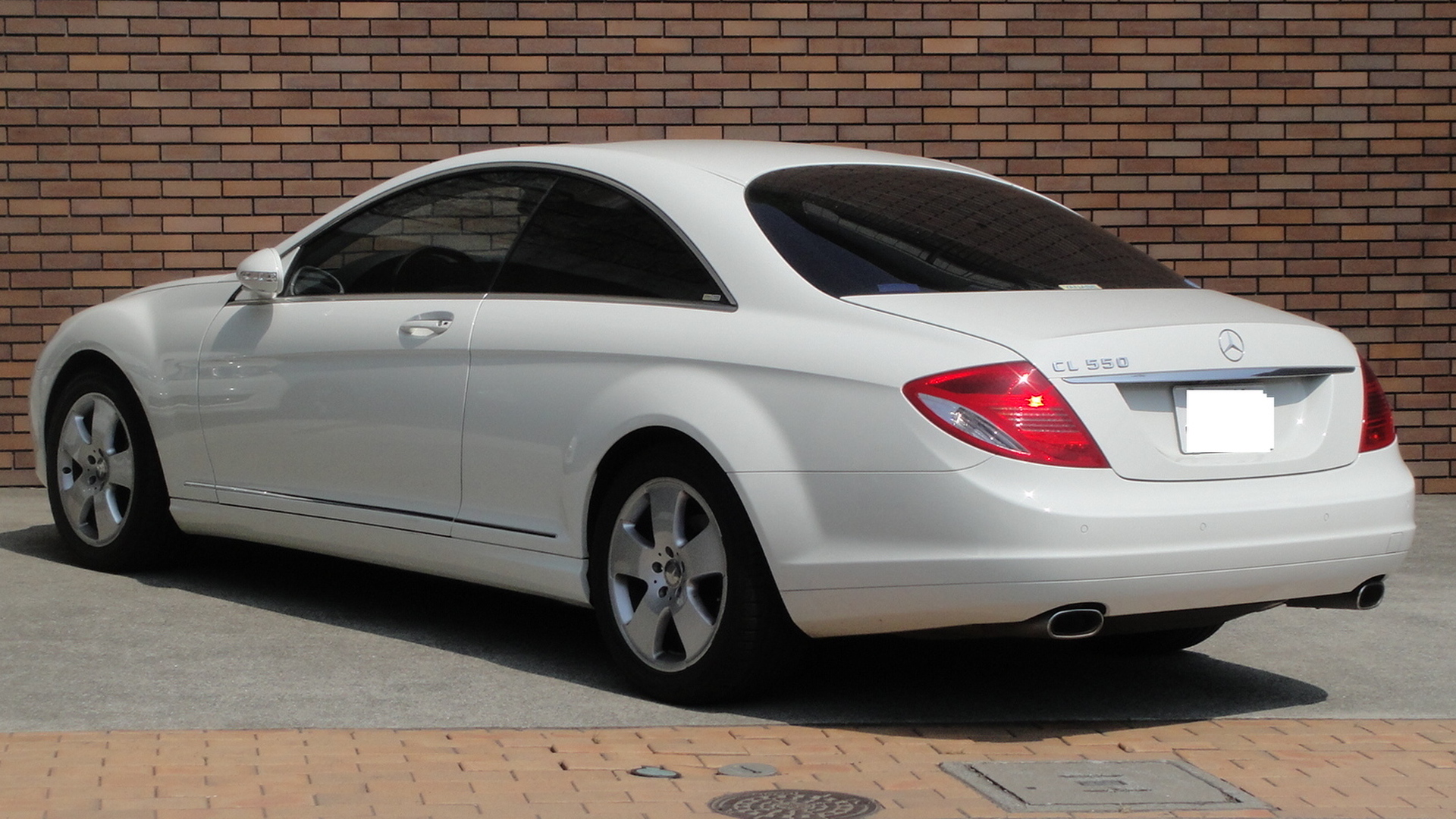 File Mercedes Benz Cl550 Rear Tx Re Jpg Wikimedia Commons
