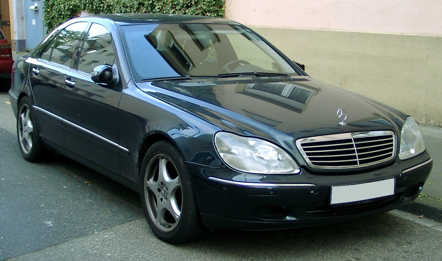 File Mercedes W220 Front 20071025 Jpg Wikimedia Commons
