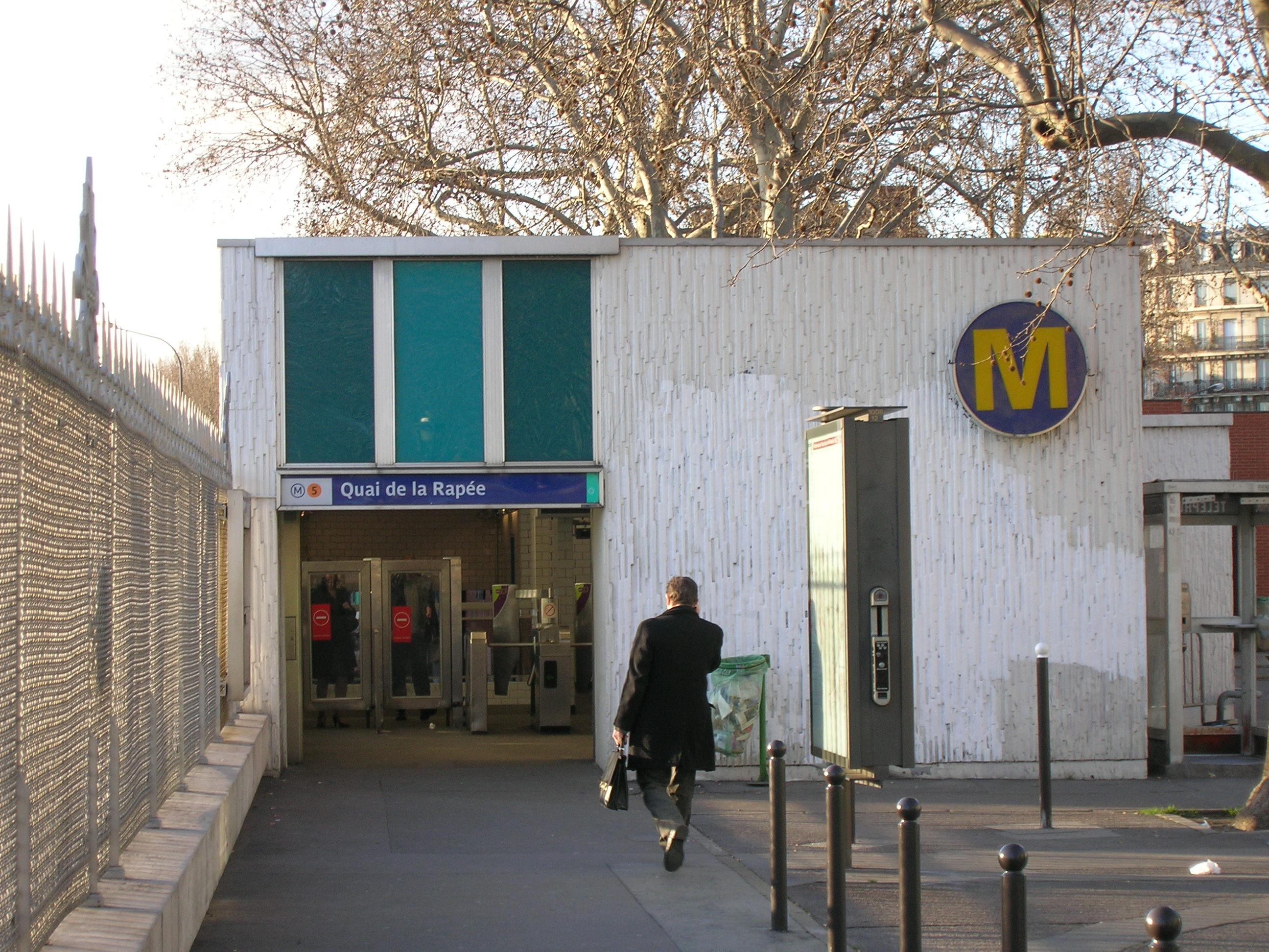 L art des m ts et des acc s des stations du m tro de paris for Exterieur quai