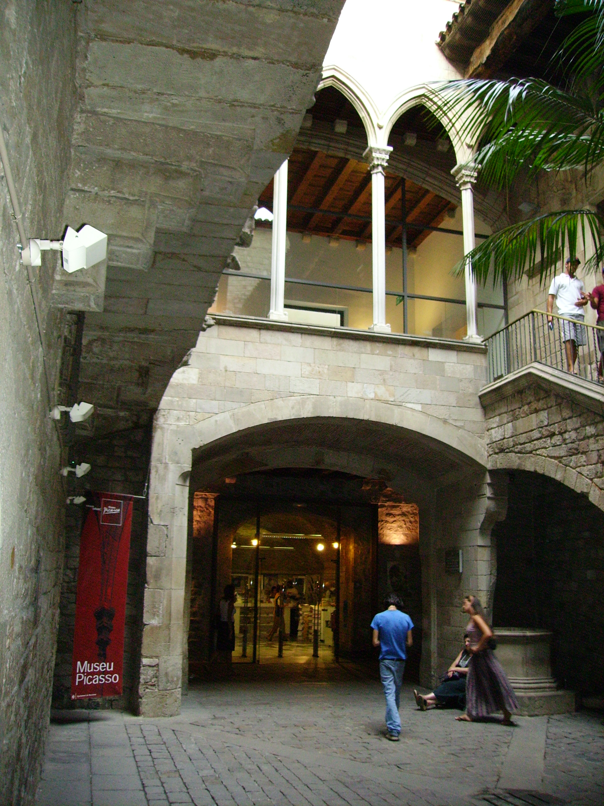 Музей пикассо в барселоне фото