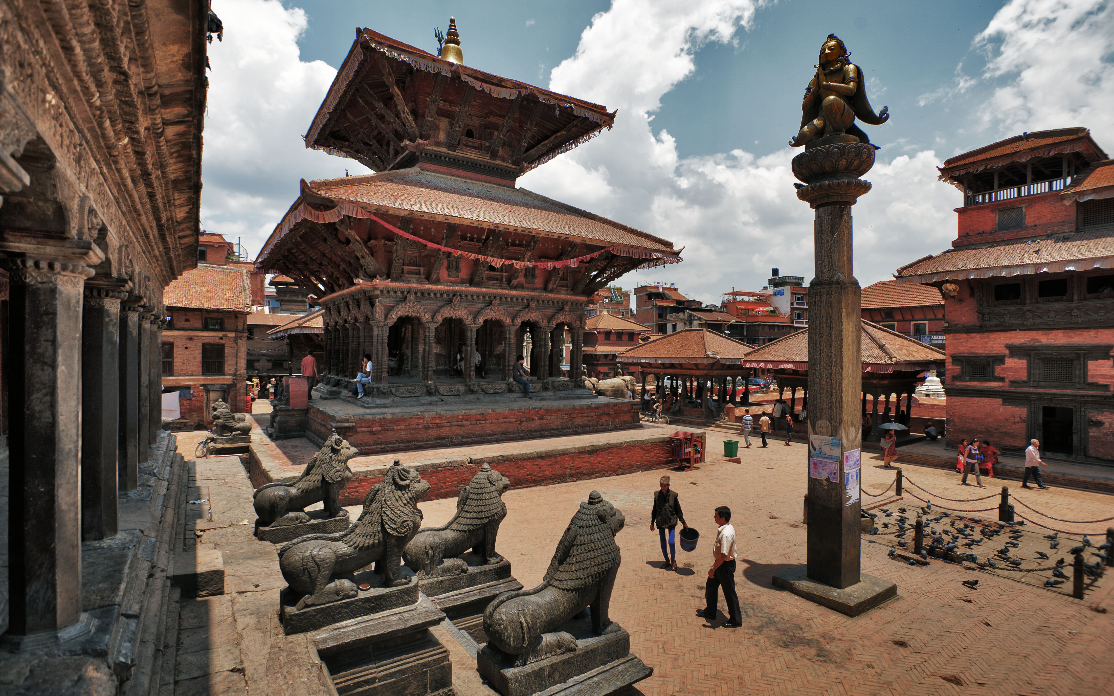 Patan Nepal  city pictures gallery : Nepal Patan Durbar Square 1 OR Wikimedia Commons