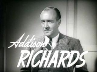 Addison Richards actor