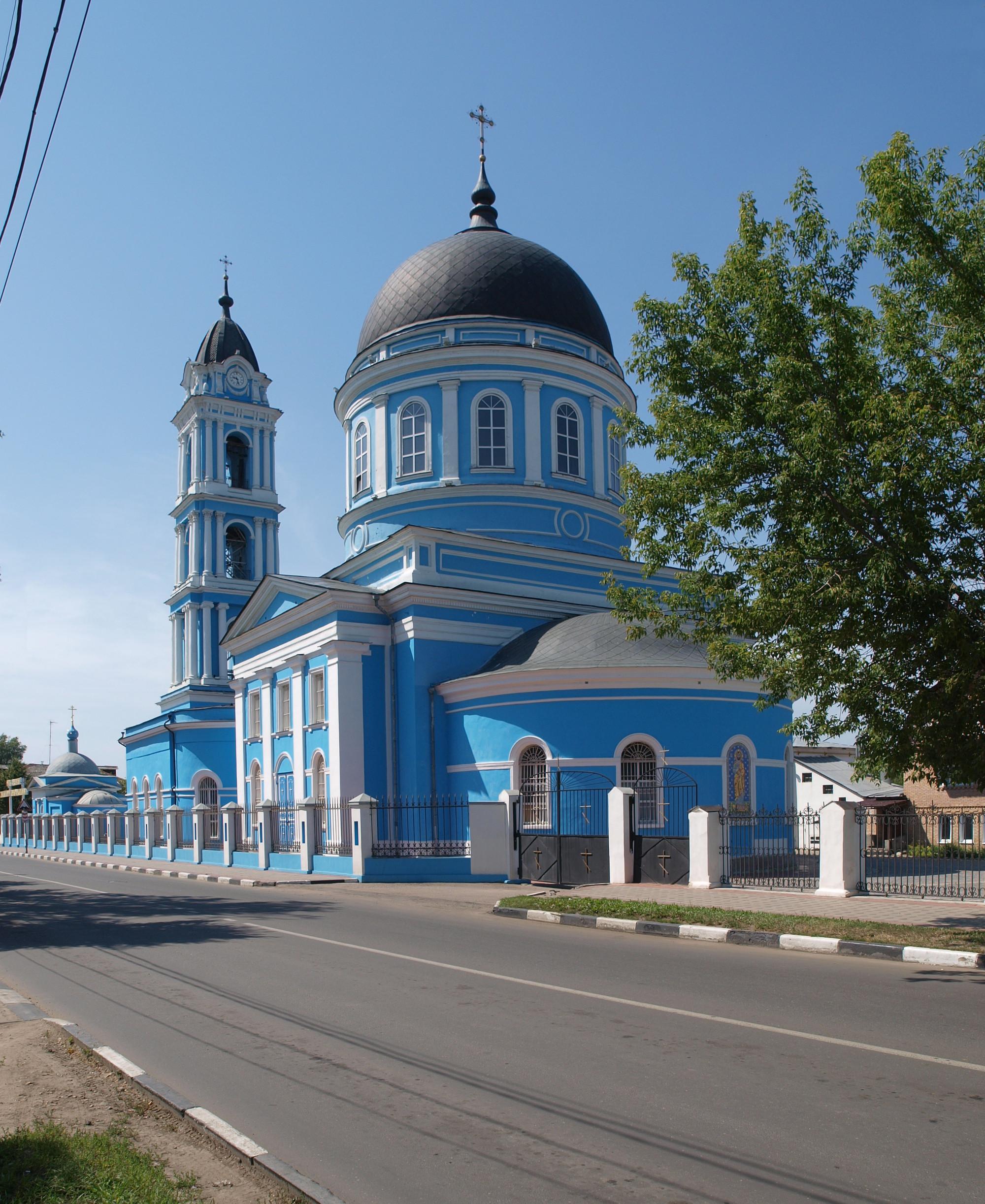 Noginsk Russia  city photo : Noginsk Bogoyavlensky 05 Wikimedia Commons
