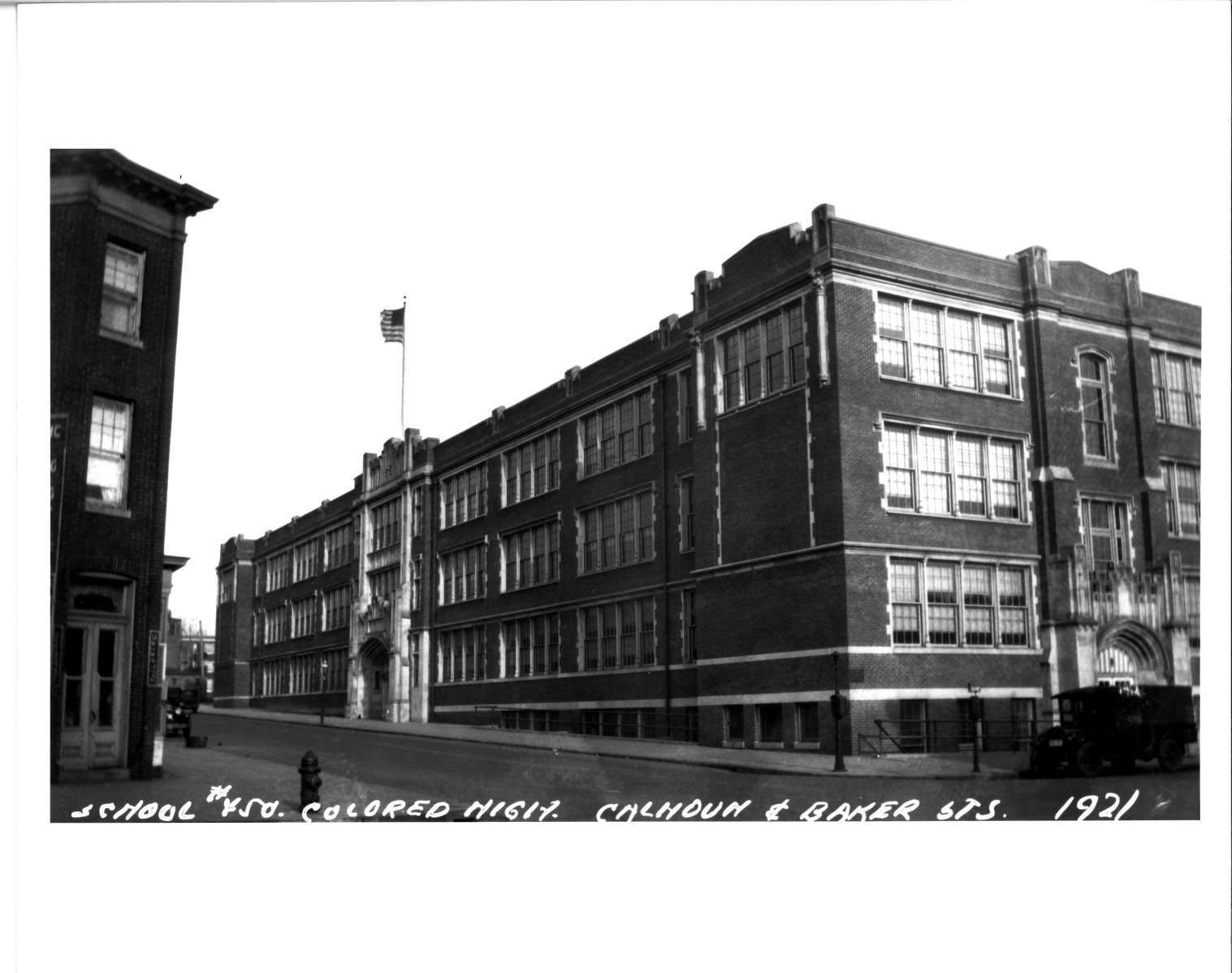 Fileold Frederick Douglass High School 1924 Owens And Sisco