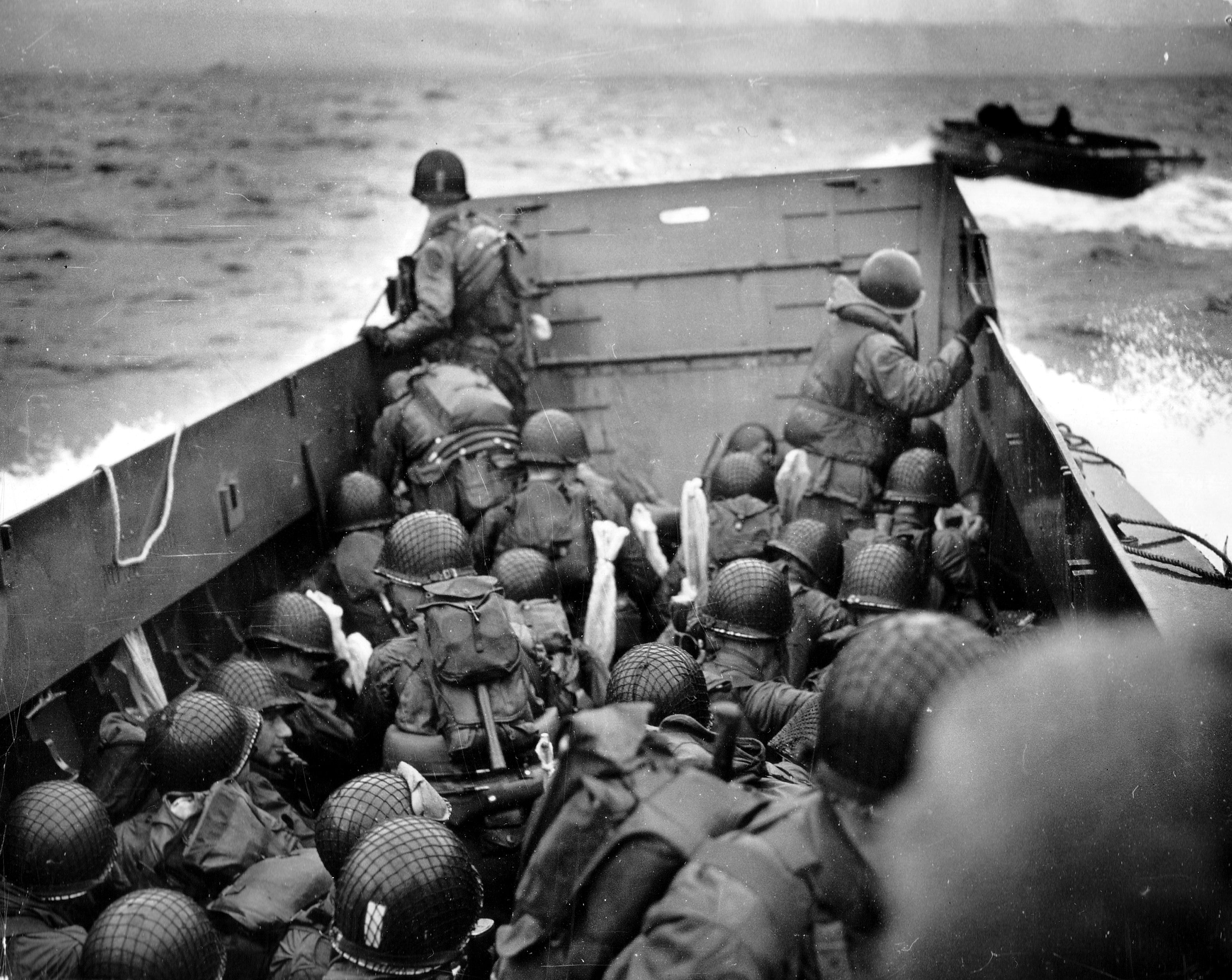 d-day in omaha beach