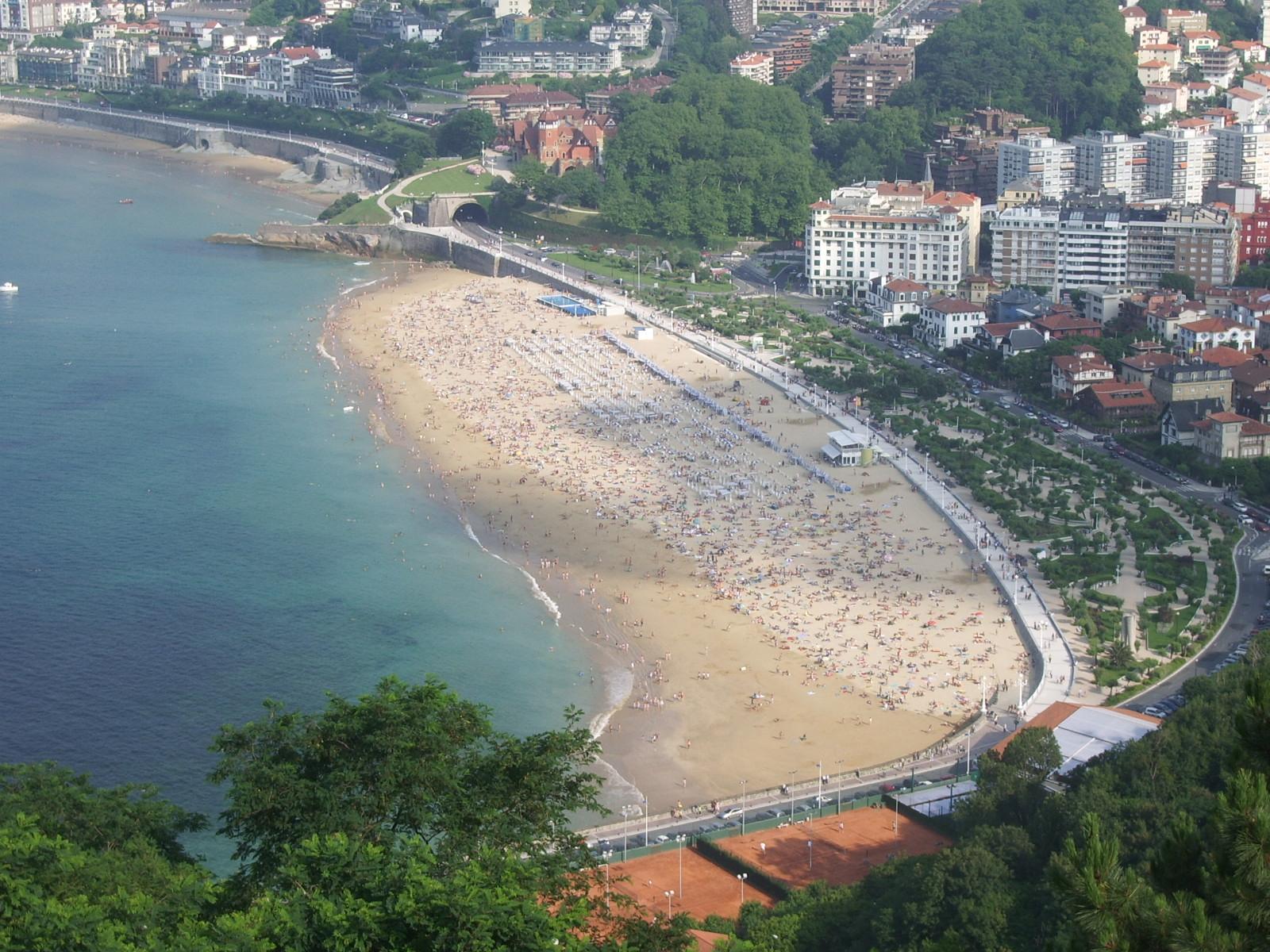 Playa de ondarreta wikipedia la enciclopedia libre - Clima en donostia san sebastian ...