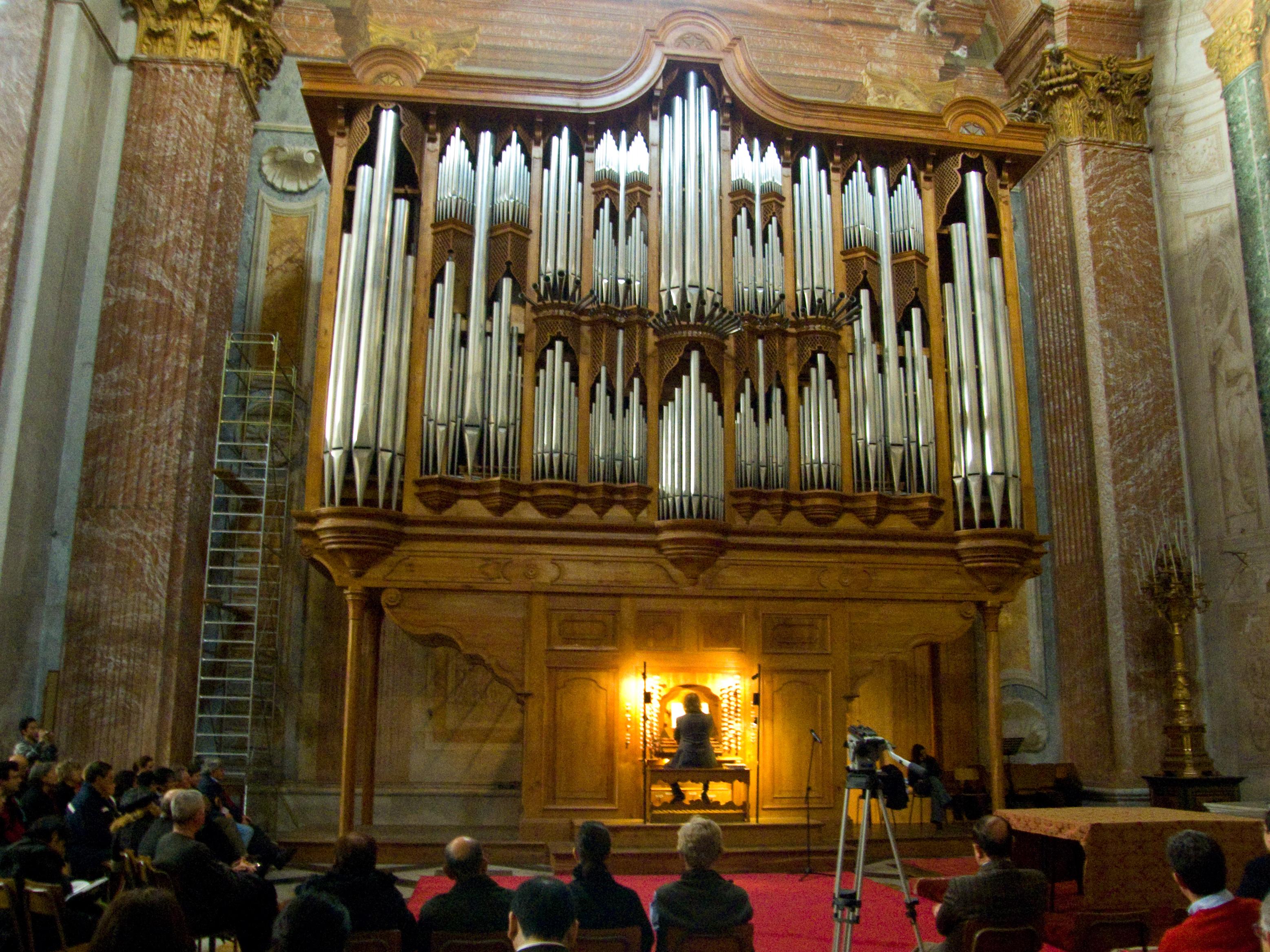 Natale 2009.File Organo Di Santa Maria Degli Angeli E Dei Martiri Roma
