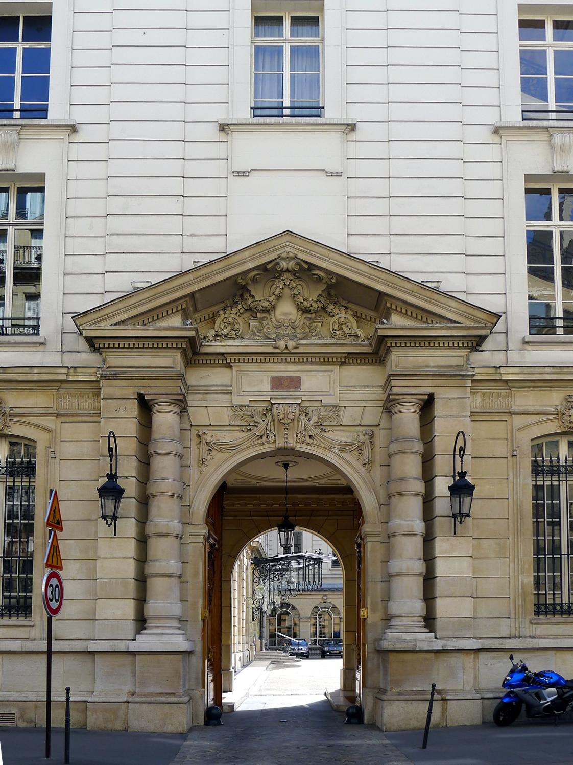 Hotel Faubourg Saint Honore Paris