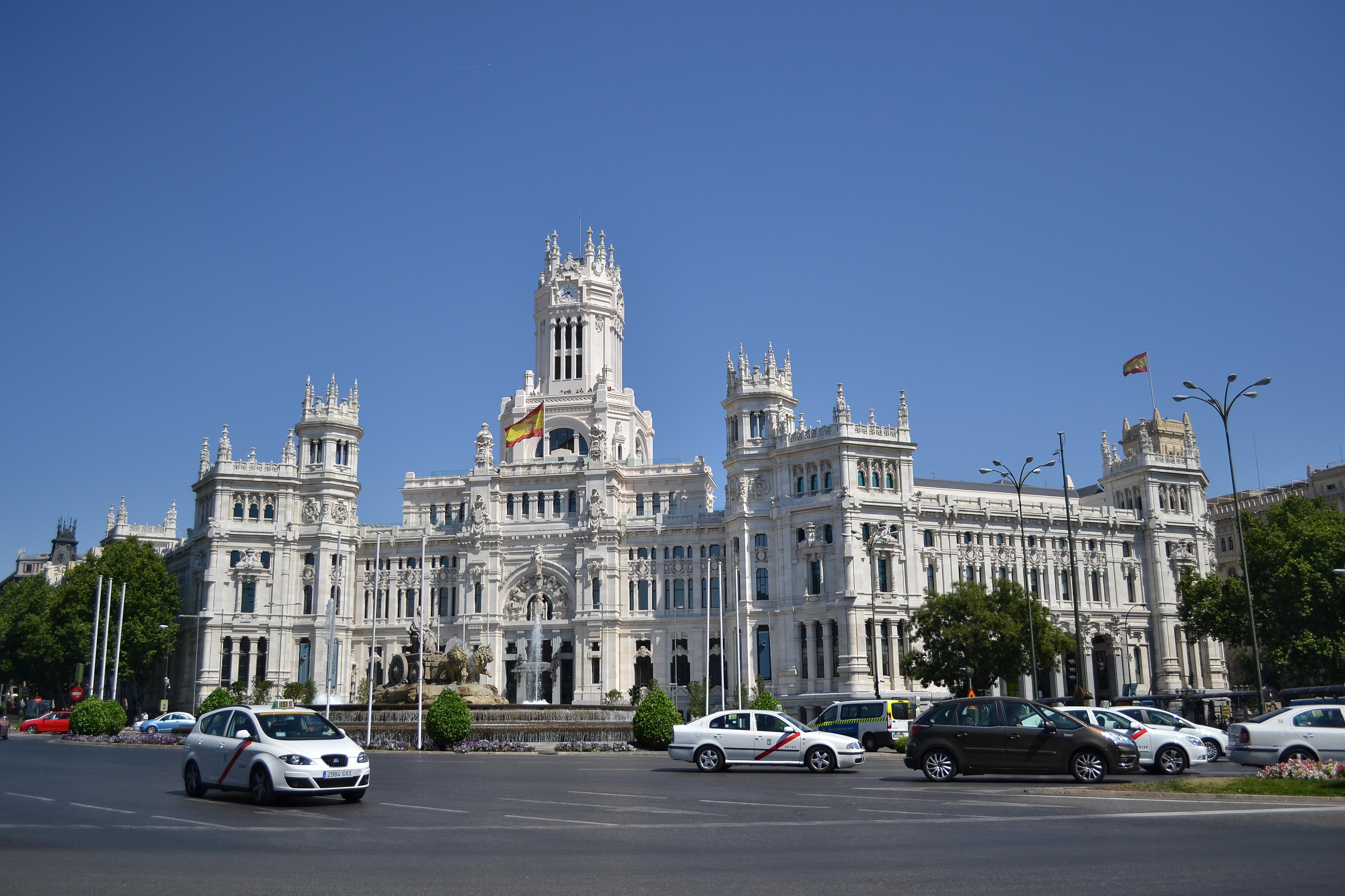 File Palacio De Cibeles Palacio De Comunicaciones Madrid