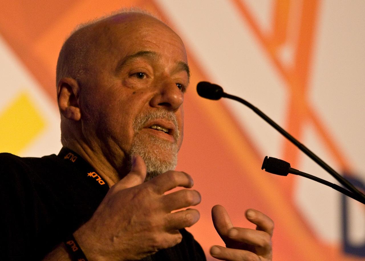 Depiction of Paulo Coelho
