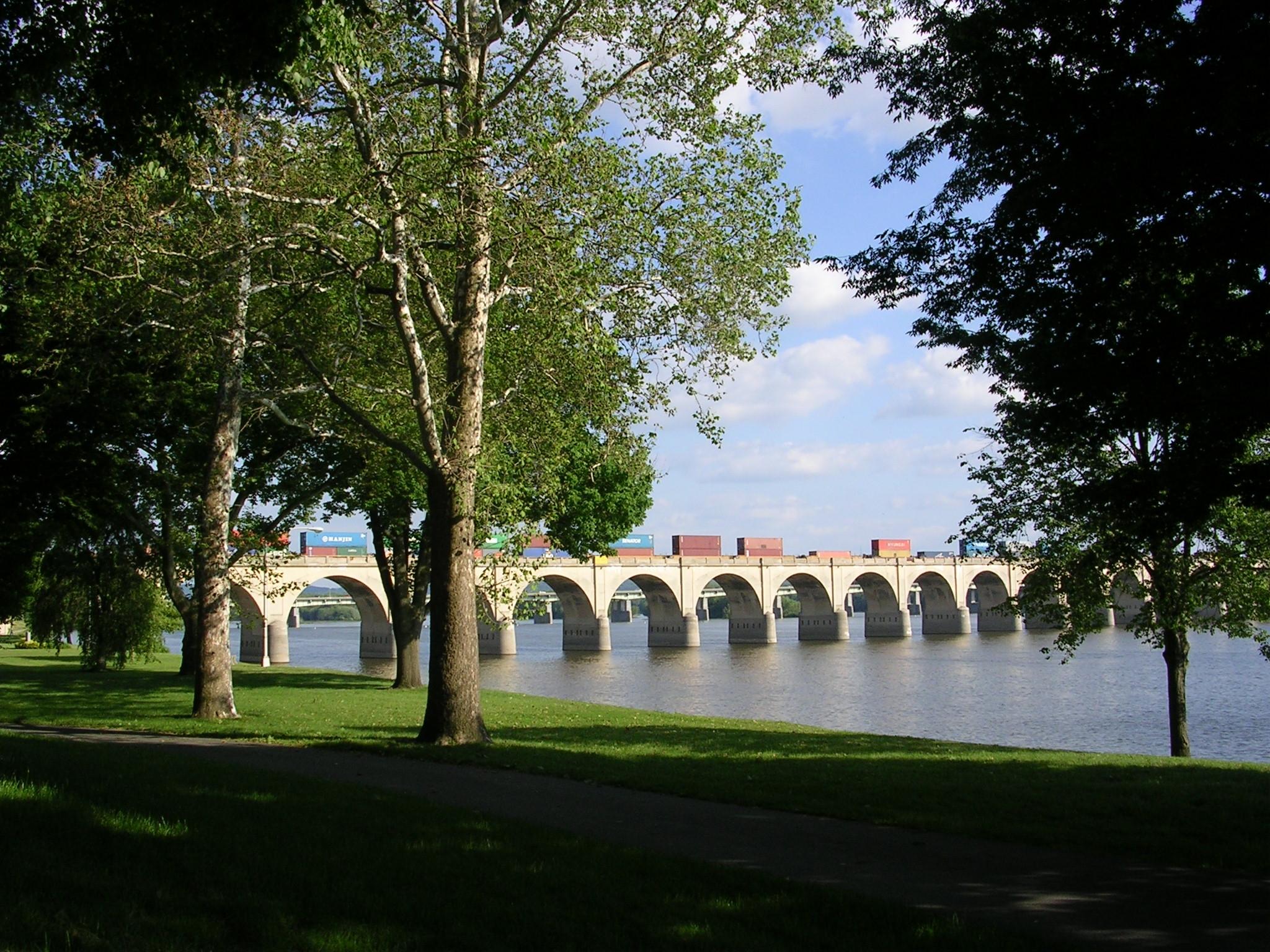 Philadelphia & Reading Railroad Bridge (Harrisburg