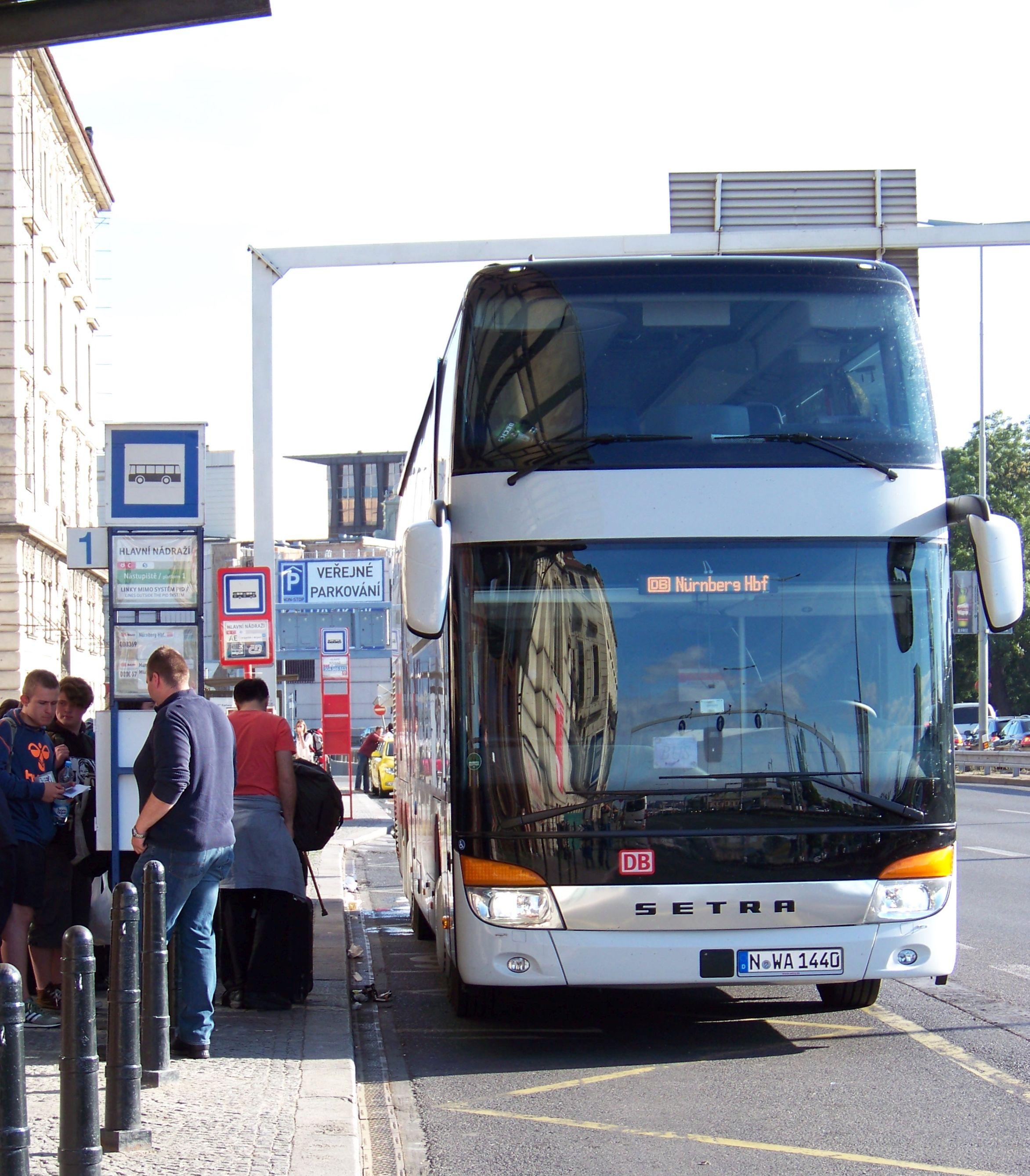 File Praha Hlavni Nadrazi Ic Bus Nurnberg Jpg Wikimedia Commons