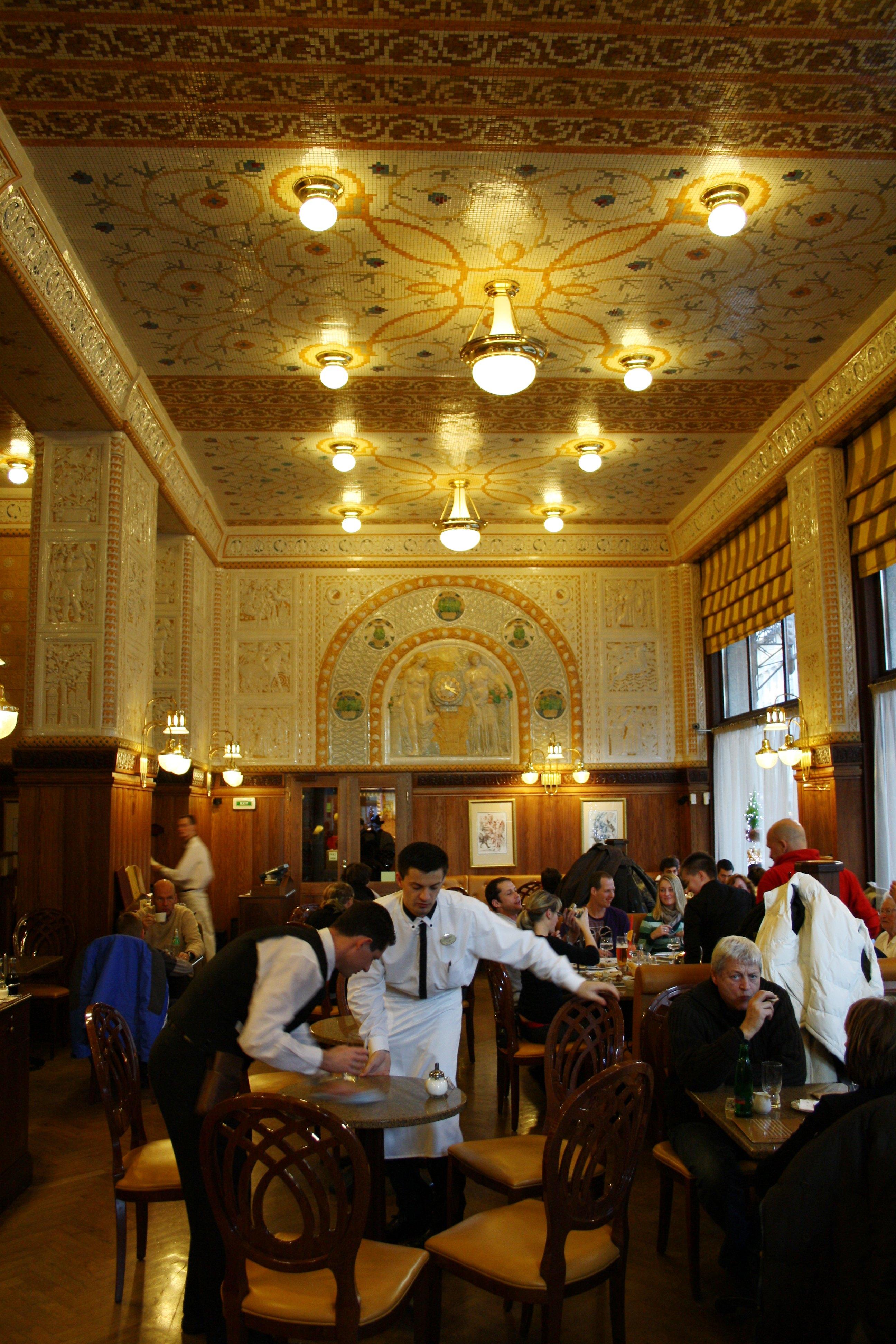 café impérial, Prague