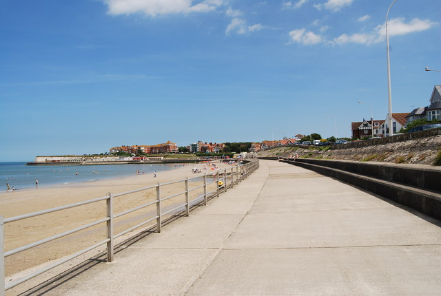Promenade behind Westgate Bay - geograph.org.uk - 1471971