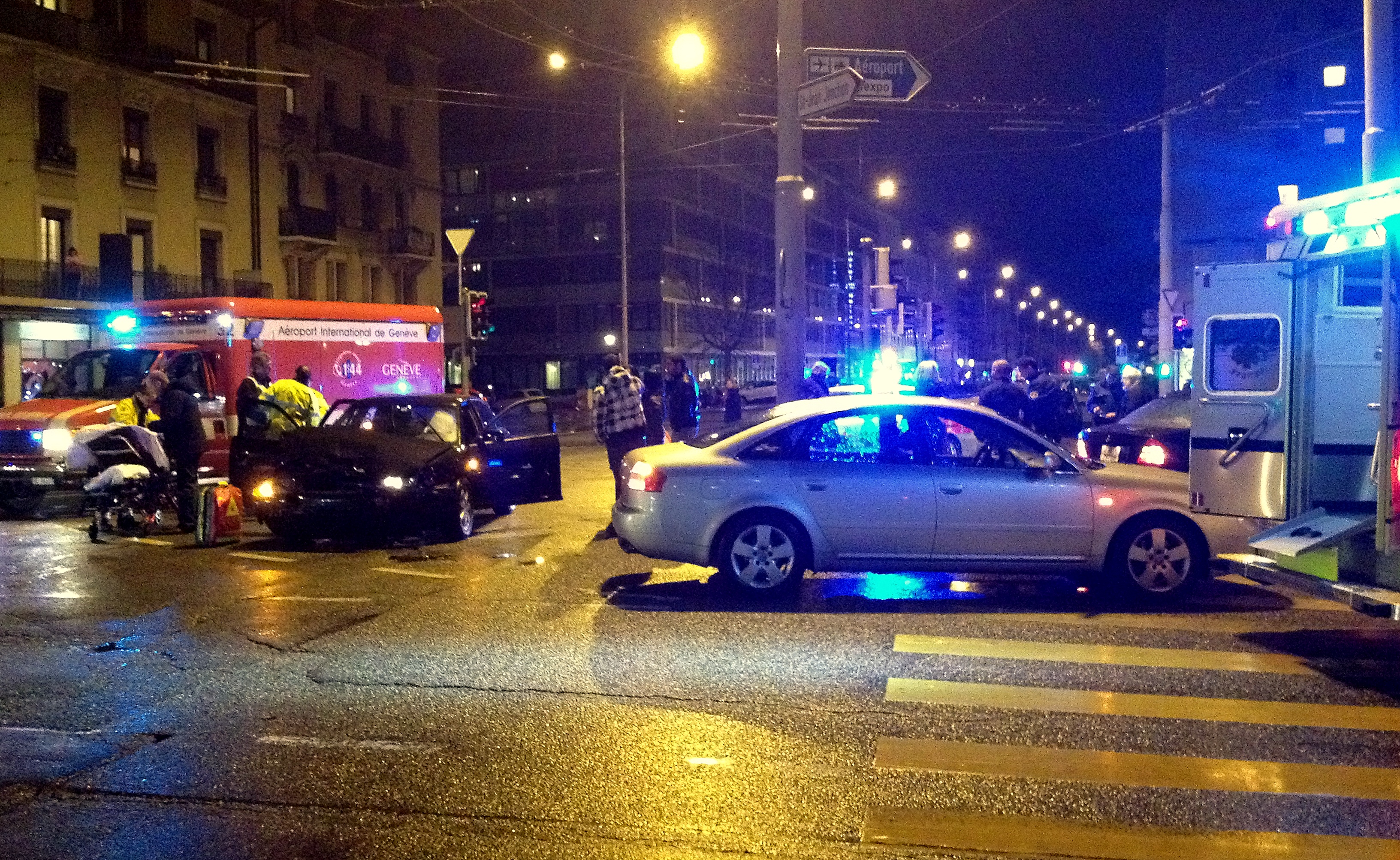 accident de la route ayant provoqué de nombreuses victimes