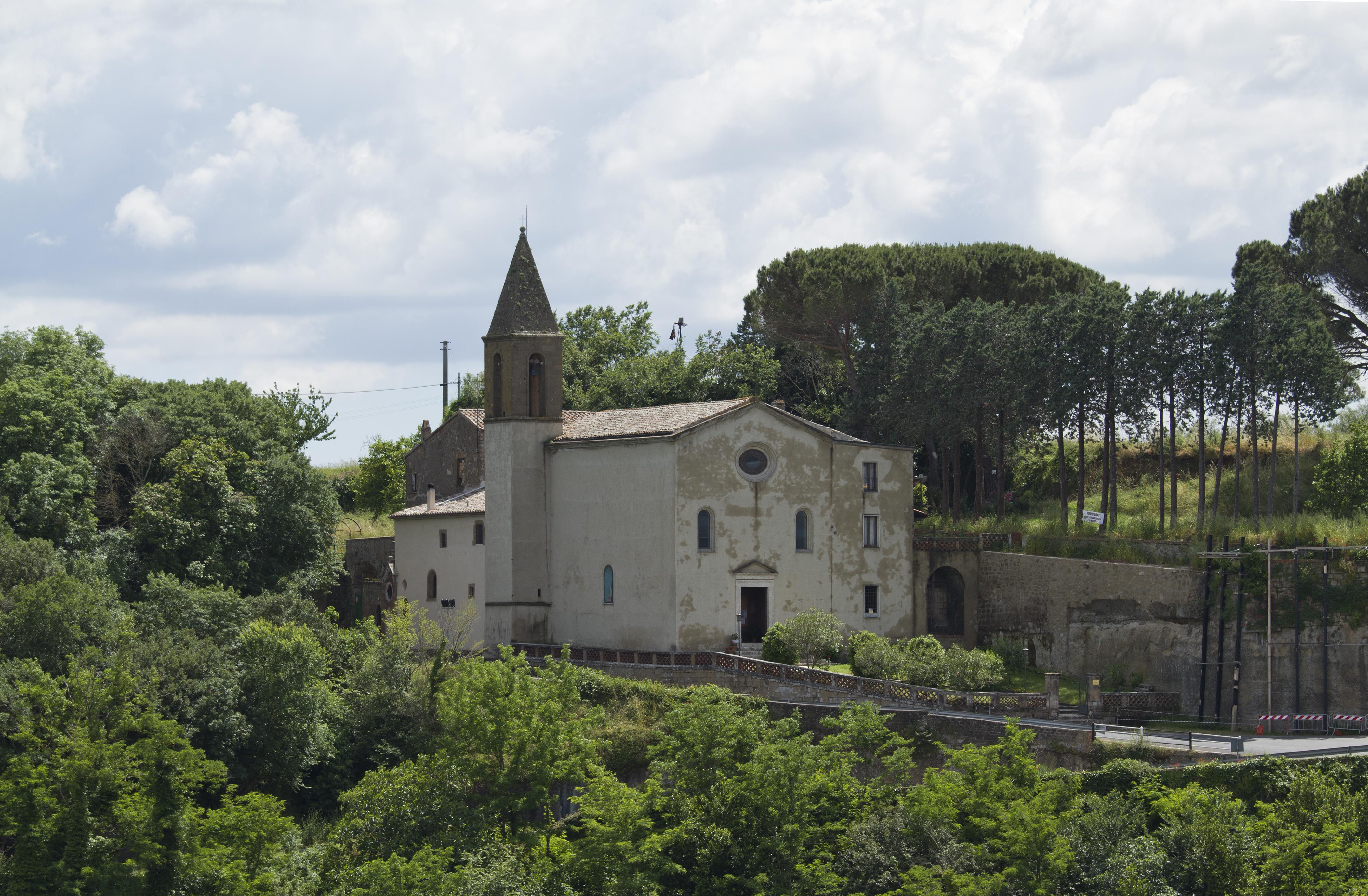 Santuario della Madonna delle Grazie, Pitigliano, Grosseto, Italy - panoramio (2).jpg