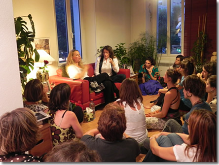 File:Satsang with Kosi in Lausanne.jpg